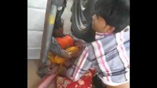 Tractor ke driver ne Shanti ki bur chodi