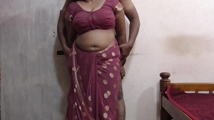 Saree wali aunty ki full fucking