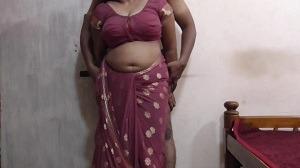 Saree wali aunty ki full fucking